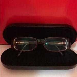 Fendi glasses with case